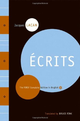 Ecrits - The First Complete Edition in English (cover art).